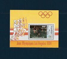 Haute Volta  bloc  jeux olympiques  Los Angeles    1984   num: BF 23 **