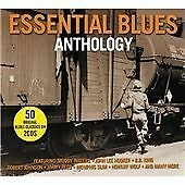 2 CD BOX ESSENTIAL BLUES ANTHOLOGY 50 ORIGINAL CLASSICS WATERS HOOKER JAMES WOLF