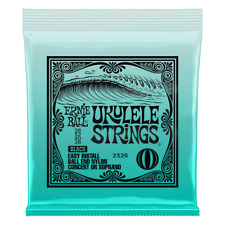 Ernie Ball 2326 Ball End Black Nylon Ukulele Strings gauges 28-32-40-28