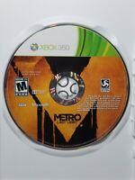 Metro Last Light (Microsoft Xbox 360, 2013) Disc only