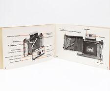 Vintage Polaroid 230 Instant Film Land Camera Manual Instructions Guide English
