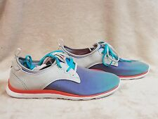 CUSHE WOMENS SHAKRA TURQUOISE / OMBRE LIGHTWEIGHT SNEAKERS SHOES SZ 9 M NEW