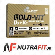 OLIMP GOLD-VIT D3+K2 SPORT EDITION 2000IU immune system bones vitamin D K