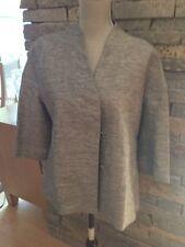 NWT Louben Black White Linen Jacket - Size 10