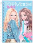 Depesche Top Model Pocket Colouring Book with 3D Cover - Candy & Hayden