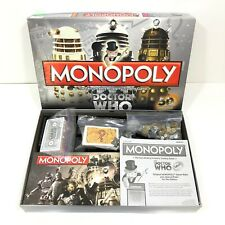 Monopoly Doctor Who 50th Anniversary Collectors Edition Board Game 100% COMPLETE