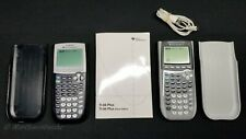TEXAS INSTRUMENTS TI-84 Plus / Plus Silver Edition Calculator Bundled Lot.