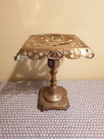 Vintage Brass Heavy Pot/Kettle Stand