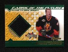 2002-2003 Bowman Topps YoungStars Fabric Of The Future Jordan Leopold #FFJ-JL