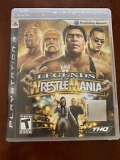 WWE Legends of WrestleMania (Sony PlayStation 3, PS3) Complete Wrestling