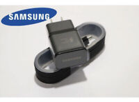 For OEM Samsung Galaxy S7 S6 Edge Note 5 Note 4 Fast Wall Charger & Micro Cable