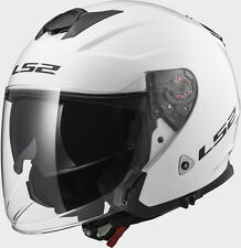 CASCO JET LS2 OF521 INFINITY GLOSS WHITE TG.M
