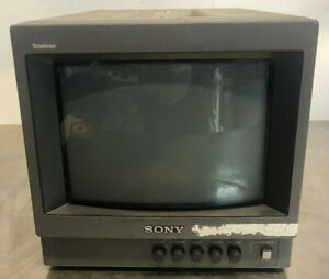 "Sony PVM-8040 Trinitron Color Video Monitor 8""  - Very Good Condition!"