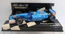 Voitures Formule 1 miniatures bleus moulé sous pression pour Benetton