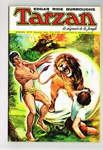 TARZAN LE SEIGNEUR DE LA JUNGLE #37 1975 VF+ FRENCH COMIC NOT PRINTED IN U.S.