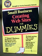 Small Business Creating Web Sites for Dummies by Brian D. de Haaff (Softcover)