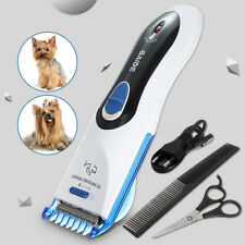 Electric Dog Pet Clipper Kit Blade Comb Set Cat Animal Hair Grooming Trimmer