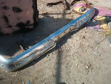 1957 FORD CUSTOM RANCHERO REAR BUMPER  & BRACKET PARTIAL