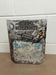 Bepuzzled Buried Blueprints  - Mount Everest - 1000 pieces Jigsaw New 1999