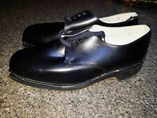 Australian Army Vietnam Era Style  Black Dress Shoes size 7 1/2 VGC - Brand NEW