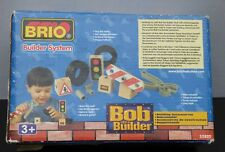 New Brio System Bob The Builder Building Accessories Tools Traffic Light 32820