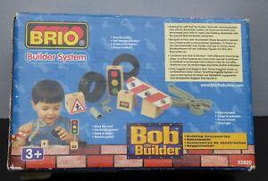 New Brio System Bob The Builder Building Accessories Tools Traffic Light 32820