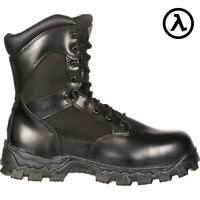 ROCKY ALPHAFORCE SIDE ZIPPER WATERPROOF DUTY BOOT FQ0002173 * ALL SIZES - NEW