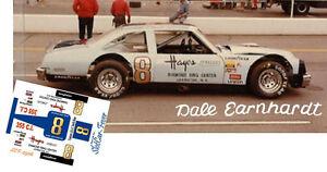 CD_2906 #8 Dale Earnhardt  Pontiac Lemans  1:24 Scale DECALS