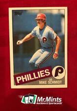 New listing 1985 Topps Baseball #500 Mike Schmidt - Philadelphia Phillies