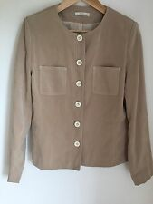 Ivory Cream Jacket Size 14 By Marks And Spencer Very Soft Fabric
