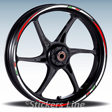 Adesivi ruote moto strisce cerchi per DUCATI MULTISTRADA  Racing3 stickers wheel