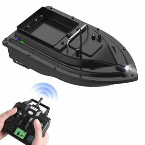 Gps Fishing Bait Boat With Large Container Automatic 400-500M Remote Range C0