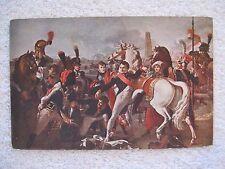 Napoleon wounded near Ratisbonne 4-25-1809 Postcard Les Editions Nomis Paris