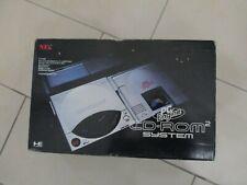 CONSOLE NEC PC ENGINE CD ROM 2 IFU-30A INTERFACCIA BOX JAP JAPAN CORE GRAFX POLY
