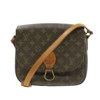 LOUIS VUITTON Monogram Saint Cloud GM Shoulder Bag Vintage M51242 LV Auth 16669