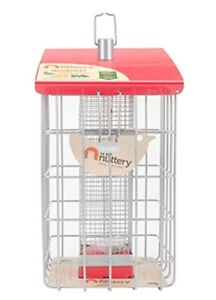 The Nuttery Geohaus Bird Feeder NEW..squirrel resistant RED