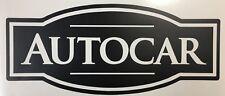 vinyl quality decal  AUTOCAR
