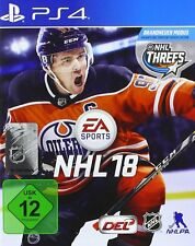 Ps4 EA Sports NHL 18 2018 Ice Hockey PlayStation 4 Package