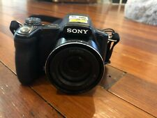 Sony Cyber-shot DSC-H50 9.1MP Digital Camera - Black