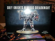 WARHAMMER 40K GREY KNIGHTS NEMESIS DREADKNIGHT 28MM MINIATURES NEW & SEALED