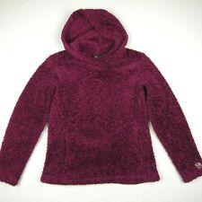 MOUNTAIN HARDWEAR Monkey Fleece Plush Pullover Hoodie Jacket Fuschia Wmn's Small