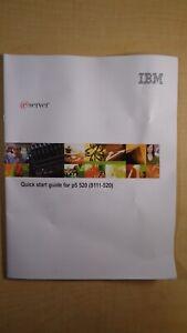 IBM eServer Quick Start Guide for p5 520 (9111-520) 7D B7
