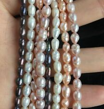 choose colors Jewelry making 1Strand Natural Freshwater Pearl Beads 4-5mm