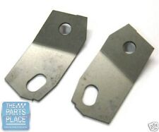 1968-69 Pontiac GTO Fender To Core Support Brackets - Pair