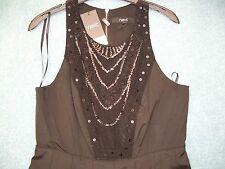 NEXT Black Sequin Dress  Size UK 12 NEW