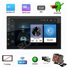 "7"" Android 9.1 2GB RAM 2Din Car Stereo Radio GPS Navi Wifi Quad-core Mirror Link"