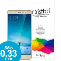 Sentete® Redmi Note 3 SE Protector de Pantalla de Cristal Templado PREMIUM