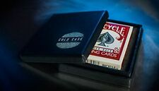 COLD CASE GIMMICK BICYCLE & ONLINE INST. BY GREG WILSON MAGIC DECK SWITCH TRICKS