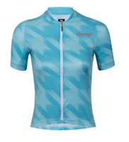 2019 Suarez Women's Quiver Short Sleeve Cycling Jersey in Blue