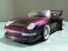 Porsche 911/993 GT2 Speedster lila FF + Vitrine - 1:18 - UT-Models